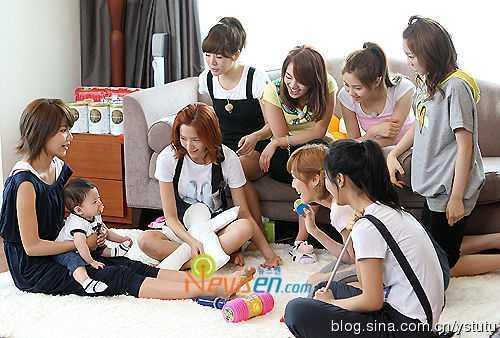分享少女时代9只早期综艺节目 少时综艺节目