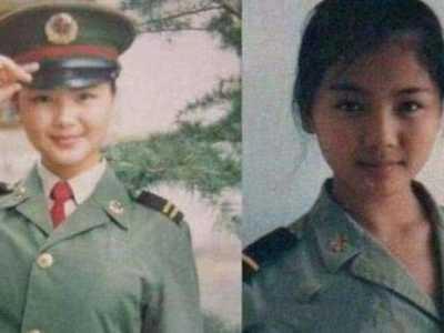当过兵的四位女星 变性人刘涛