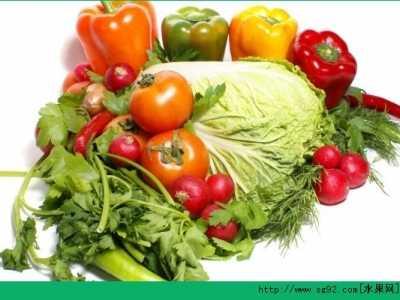 哪些蔬菜是绿色的 什幺菜是素菜