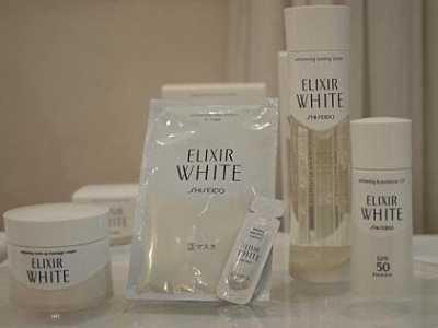 资生堂ELIXIR WHITE透明纯化净白2阶段面膜6枚装 资生堂净白纯化