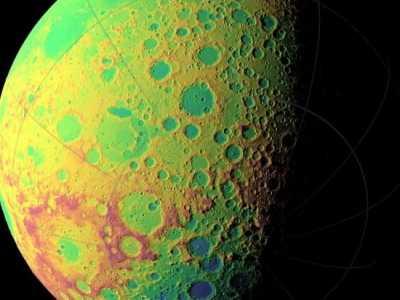 美国宇航局捕捉到月球背面清晰画面 月球背面飞船高清照片