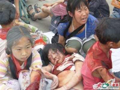 5.12汶川大地震央视也不敢公布的照片 汶川大地震被禁图片