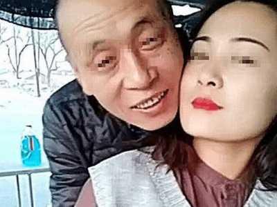 23岁漂亮女孩嫁给52岁老汉 巨星老公太粘人