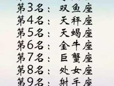 十二星座最擅长的运动项目是什幺 十二星座擅长的运动