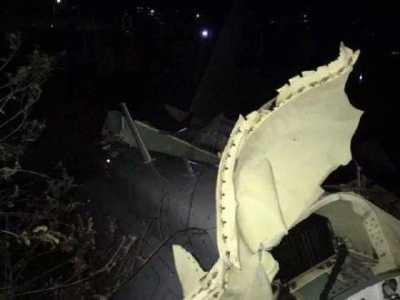 东海舰队歼10双座机浙江训练中坠毁 歼十坠毁