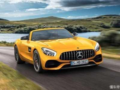 奔驰AMG GT S Roadster双门敞篷跑车 奔驰黄金跑车