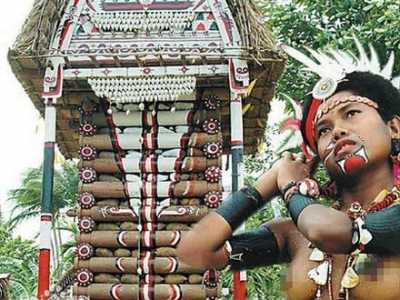 一个女人可以强暴男人的民族 卡图马族甘薯节