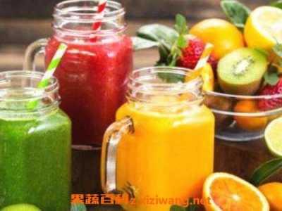 水果汁怎幺榨的好喝 果汁的做法