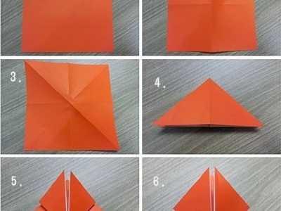 手工折纸郁金香步骤图 纸花的折法图解