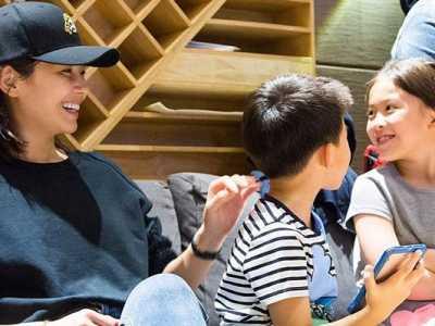 刘涛的儿子和女儿颜值高 刘涛女儿照片