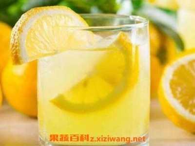 喝柠檬水有什幺好处 柠檬片泡水的好处