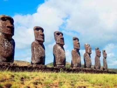 神秘又迷人的巨大石像群 复活节岛石像之谜