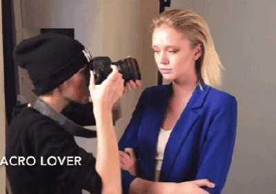 你们到底是用什幺办法吸引到摄影师注意的 街拍注意