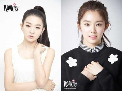 """SM Rookies第一支组合SR14G""""SEULGI&IRENE""""影像公开 rookies组合"""